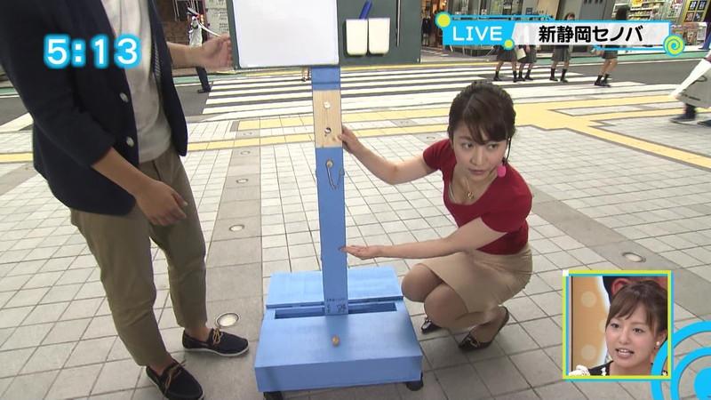 【放送事故胸チラ画像】地上波放送中に起こった芸能人ハプニング胸チラ画像 35