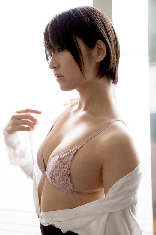【貧乳スレンダー美女画像】グラドルやAV女優の貧乳微乳ボディがエロい画像 19