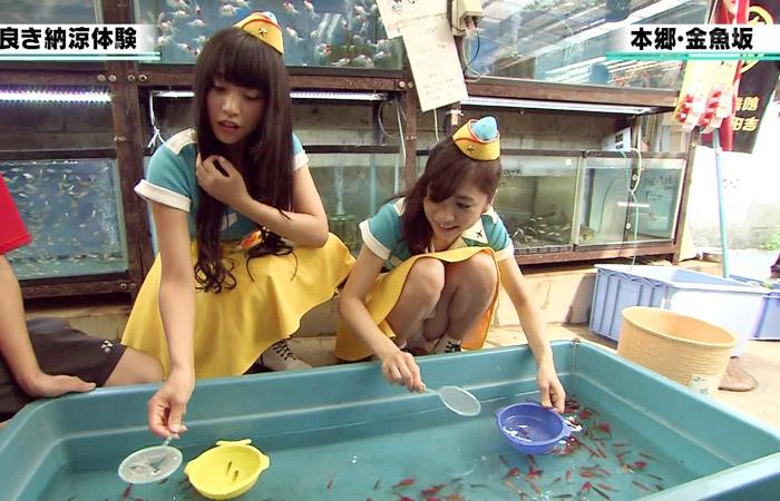 【ハプニングパンチラ画像】ひな壇タレントと素人娘のハプニンパンチラ画像 11