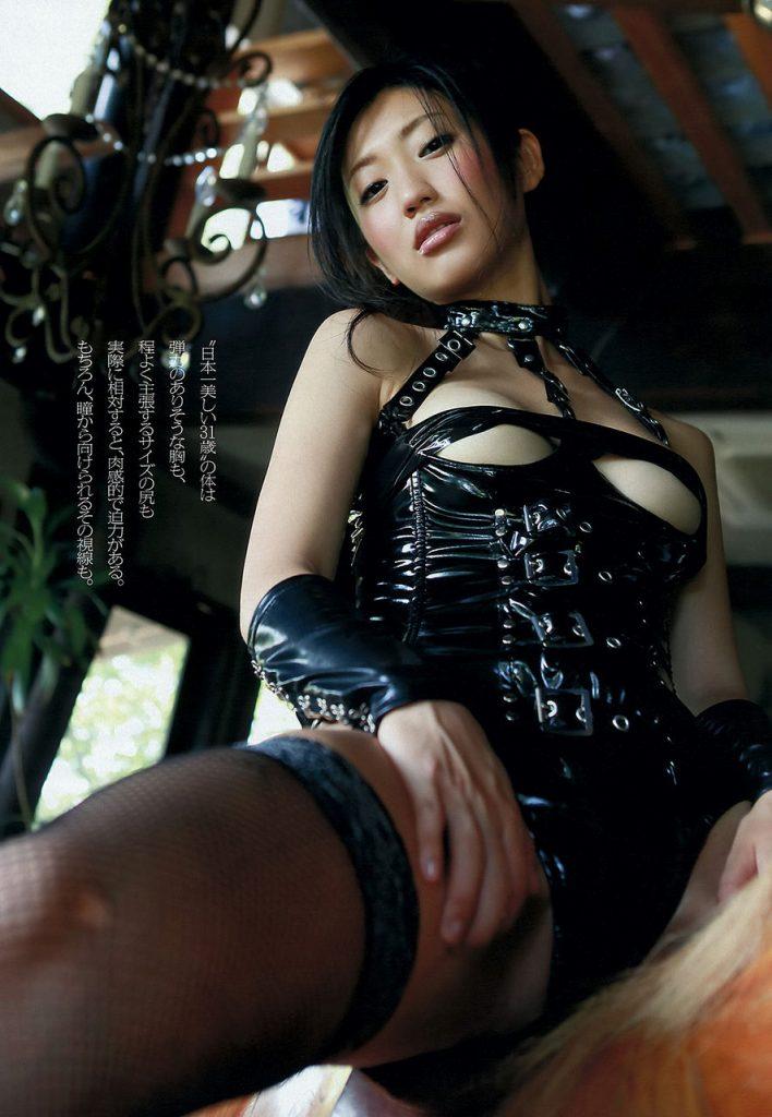 【グラドルボンデージ画像】グラドルやAV女優の激エロなセクシーボンデージ画像 41