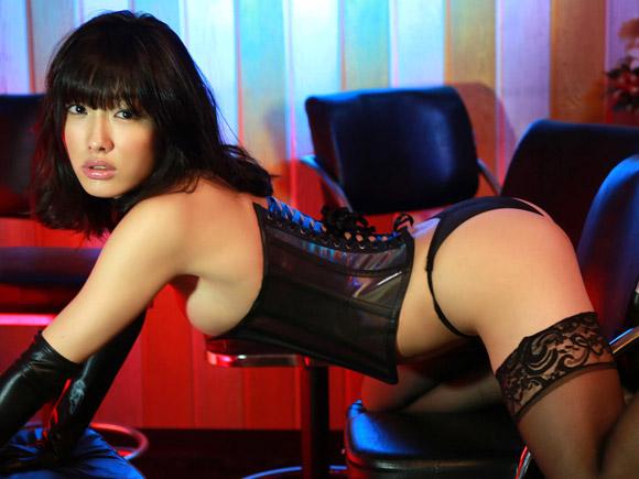【グラドルボンデージ画像】グラドルやAV女優の激エロなセクシーボンデージ画像 43