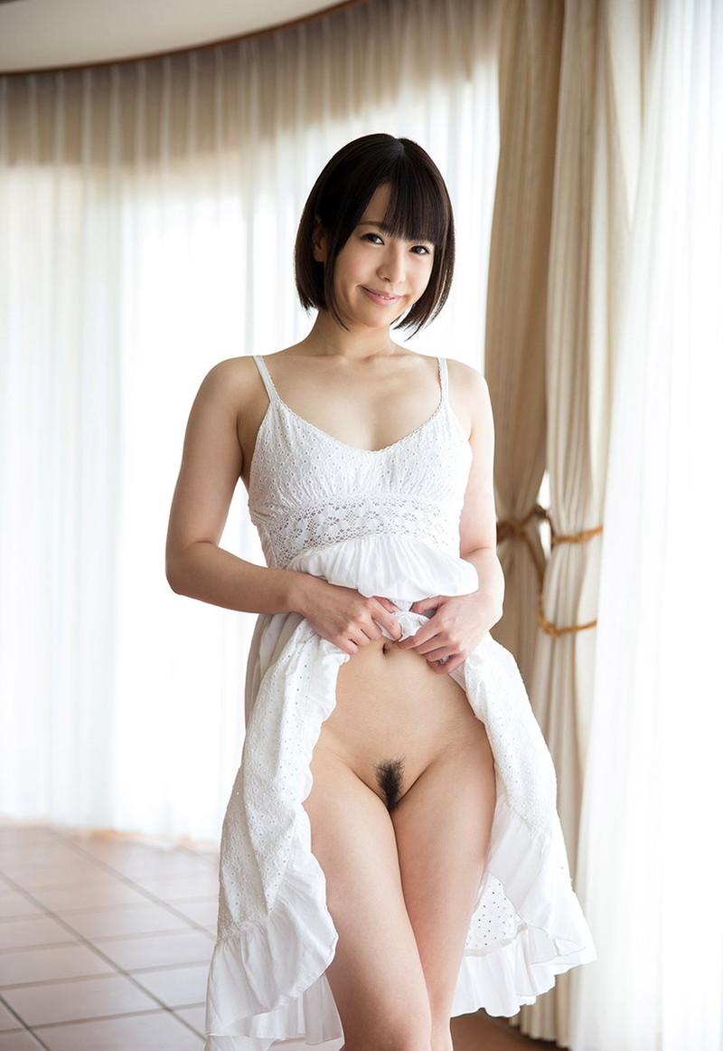 【ボブヘア美女エロ画像】ボブヘアが似合って可愛い美女のエロ画像 21
