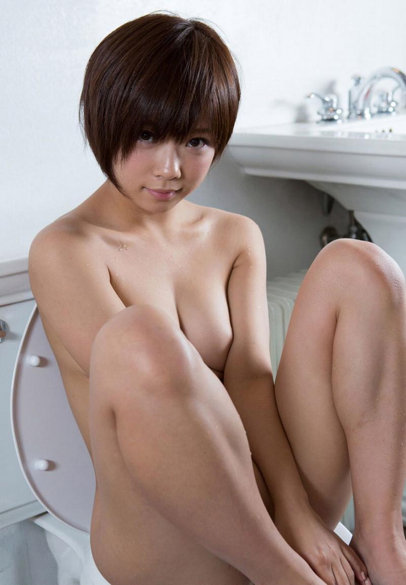 【ボブヘア美女エロ画像】ボブヘアが似合って可愛い美女のエロ画像 41