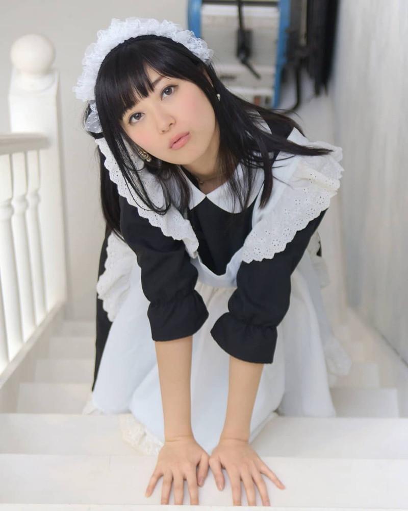 【メイドコスプレ画像】グラドルやAV女優の可愛いセクシーメイドコスプレ画像 29