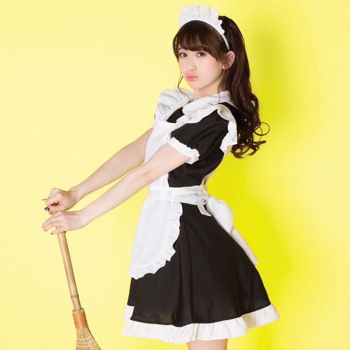 【メイドコスプレ画像】グラドルやAV女優の可愛いセクシーメイドコスプレ画像 38