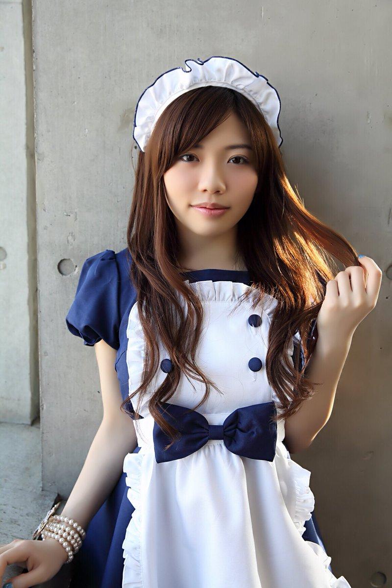 【メイドコスプレ画像】グラドルやAV女優の可愛いセクシーメイドコスプレ画像 47