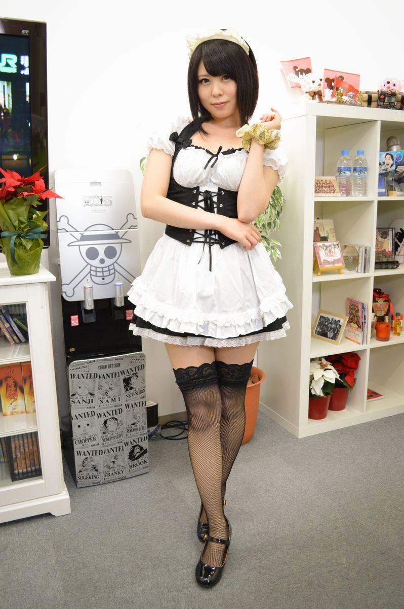 【メイドコスプレ画像】グラドルやAV女優の可愛いセクシーメイドコスプレ画像 53