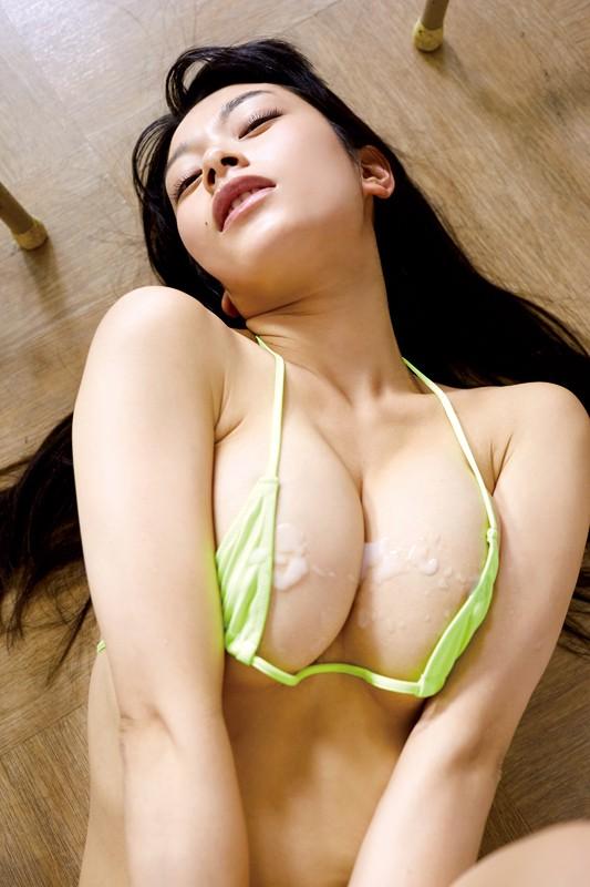 【春野恵グラビア画像】セクシー過ぎる魅力に溢れたGカップ巨乳美女画像 46