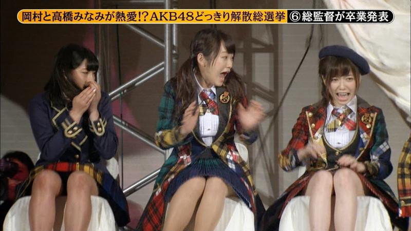 【AKB48パンチラ画像】可愛いミニスカ衣装でパンチラしそうなアイドル画像 26