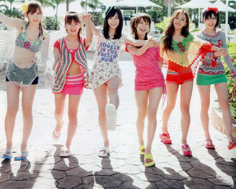 【AKB48パンチラ画像】可愛いミニスカ衣装でパンチラしそうなアイドル画像 73