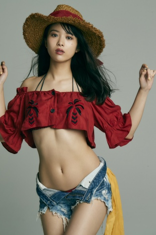 【馬場ふみかグラビア画像】目元のホクロが色っぽいモグラ女子のセクシーショット 23