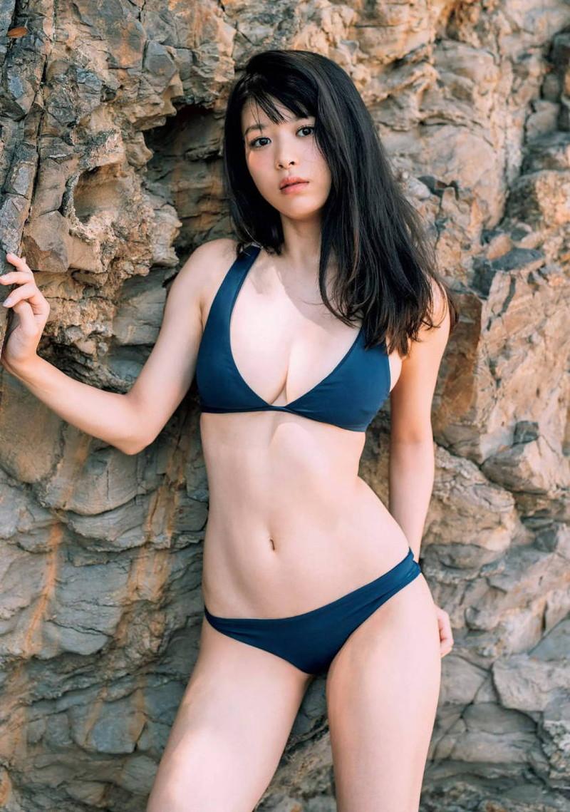 【馬場ふみかグラビア画像】目元のホクロが色っぽいモグラ女子のセクシーショット 58