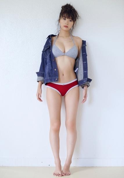 【馬場ふみかグラビア画像】目元のホクロが色っぽいモグラ女子のセクシーショット 70