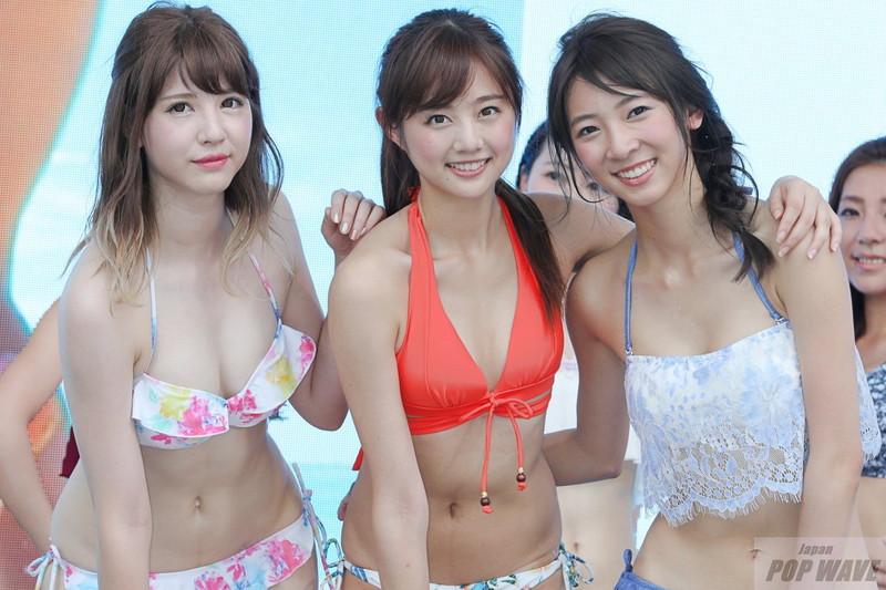 【モグラ女子ビキニ画像】スタイル抜群な美女たちの激エロビキニショット! 53