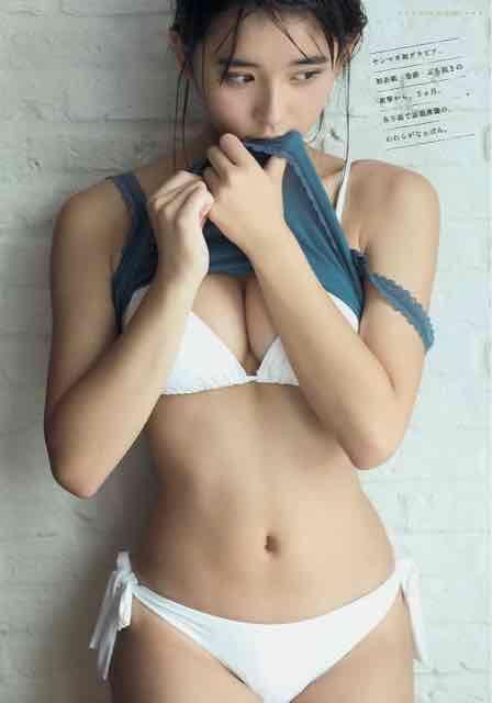【浅川梨奈グラビア画像】童顔巨乳で大人気のグラビアアイドル水着画像 50
