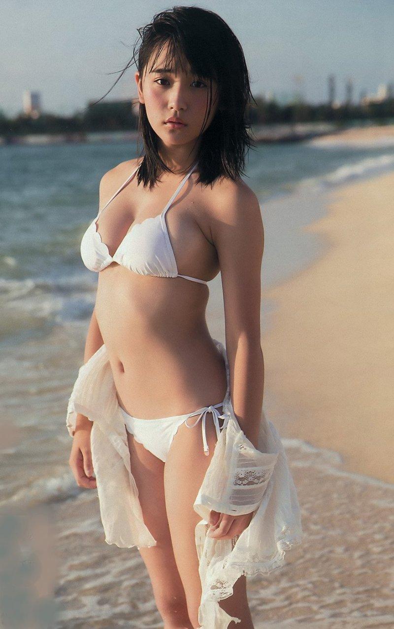 【浅川梨奈グラビア画像】童顔巨乳で大人気のグラビアアイドル水着画像 77
