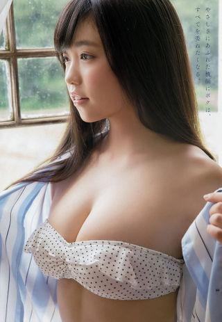 【童顔巨乳グラドル画像】可愛い顔に巨乳ボディのギャップが萌える美少女画像 73