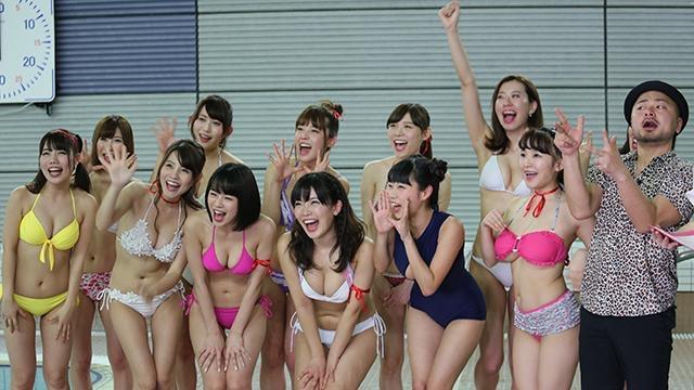 【アイドル水泳大会】昭和から平成までポロリもあった水泳大会画像 06