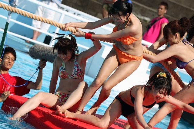 【アイドル水泳大会】昭和から平成までポロリもあった水泳大会画像 14