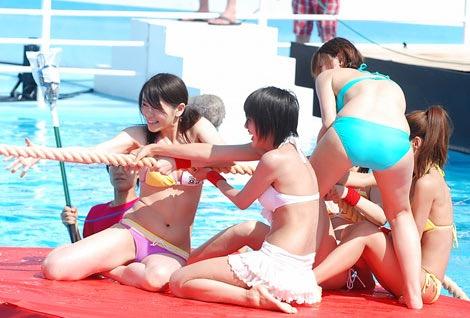 【アイドル水泳大会】昭和から平成までポロリもあった水泳大会画像 31