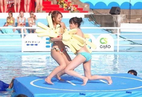 【アイドル水泳大会】昭和から平成までポロリもあった水泳大会画像 32