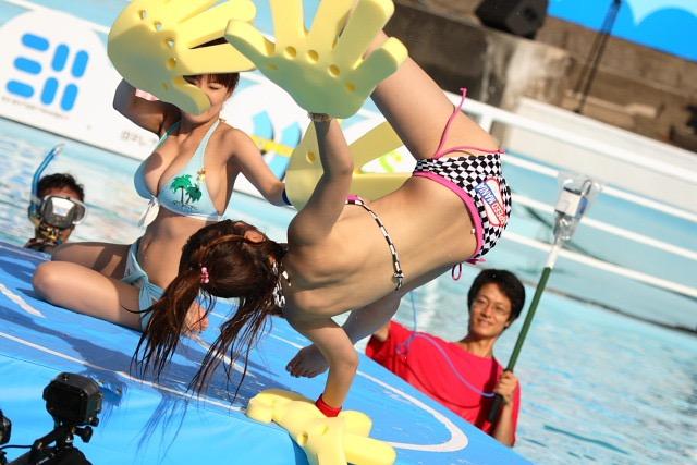 【アイドル水泳大会】昭和から平成までポロリもあった水泳大会画像 45