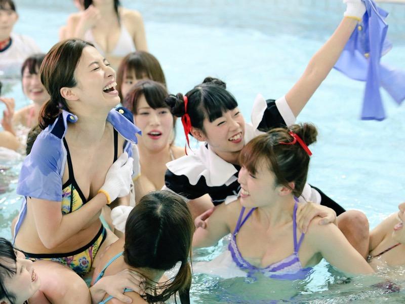 【アイドル水泳大会】昭和から平成までポロリもあった水泳大会画像 55