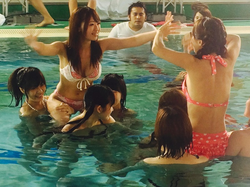 【アイドル水泳大会】昭和から平成までポロリもあった水泳大会画像 56