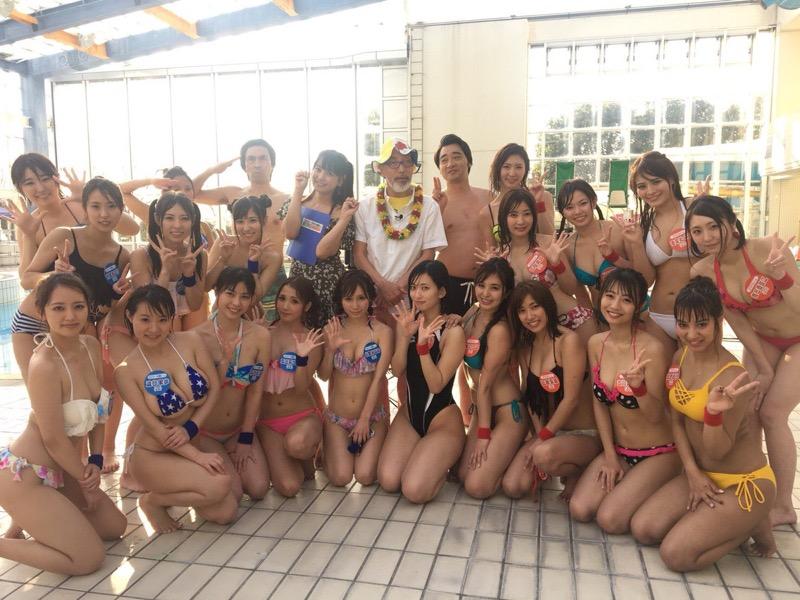 【アイドル水泳大会】昭和から平成までポロリもあった水泳大会画像 62