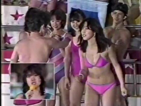 【アイドル水泳大会】昭和から平成までポロリもあった水泳大会画像 64