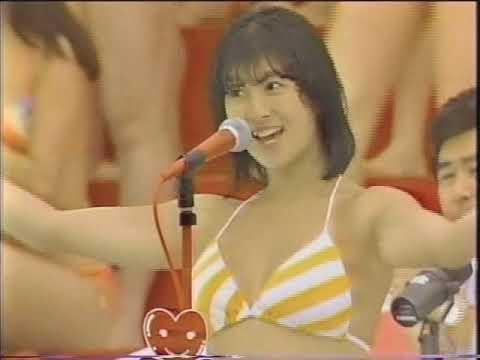 【アイドル水泳大会】昭和から平成までポロリもあった水泳大会画像 71