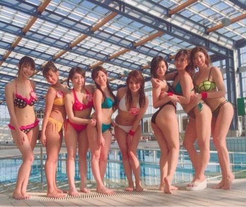 【アイドル水泳大会】昭和から平成までポロリもあった水泳大会画像 77