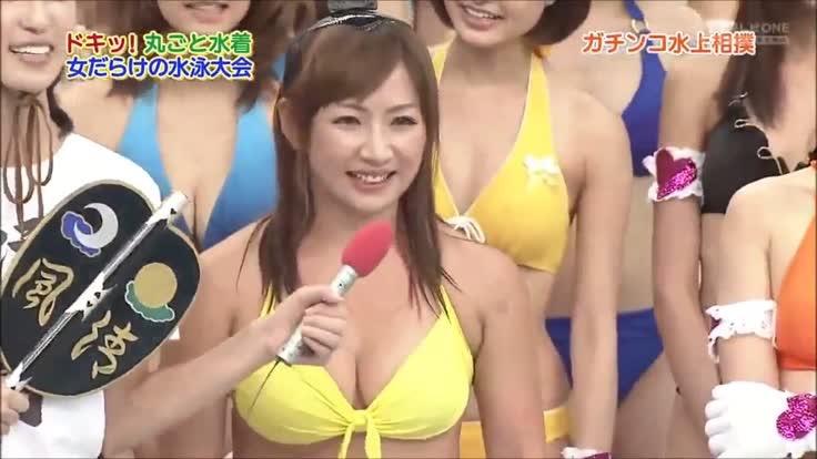 【アイドル水泳大会】昭和から平成までポロリもあった水泳大会画像 79