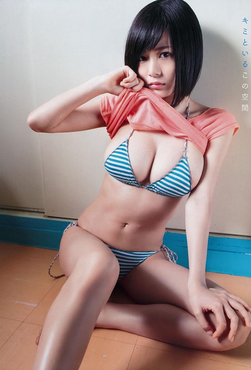【グラドルエロ画像】見た瞬間チンコにヒットする激シコグラドル美女! 73
