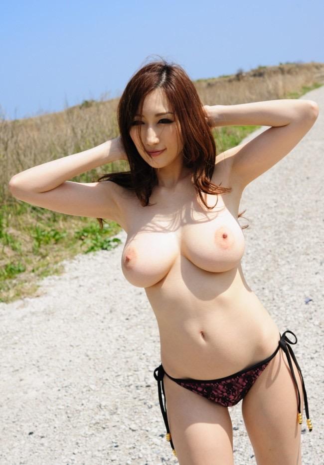 【AV女優グラビア画像】キワドイ露出やフルヌードまで魅せるエログラビア美女 57