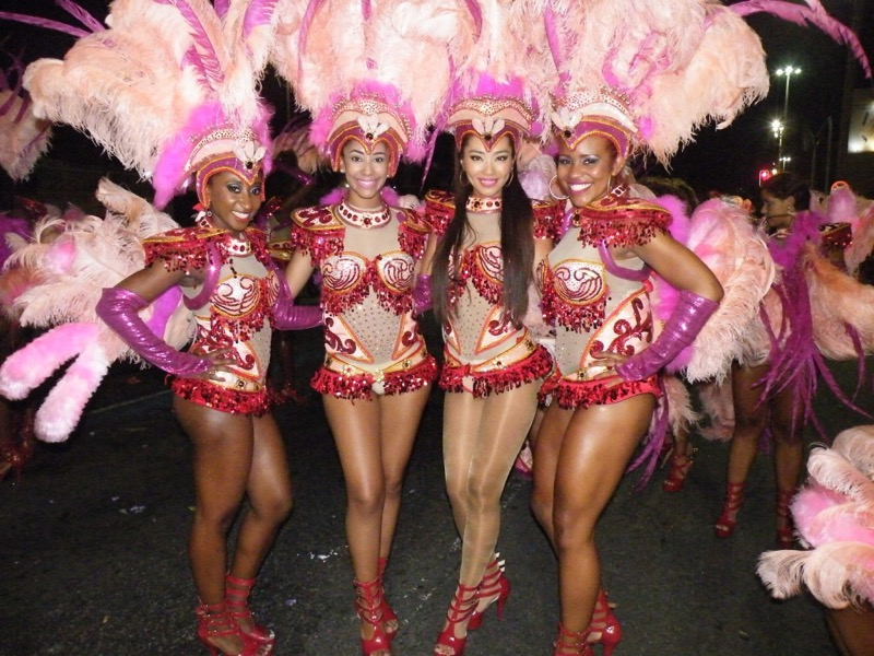 【サンバカーニバル】まるで野外露出ショーみたいなエロい衣装で踊り狂う女性達! 11