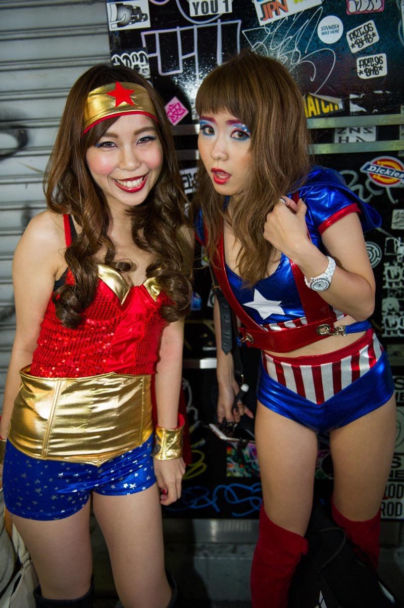 【ハロウィンコスプレ画像】渋谷に集まるギャル達の凝った様々な衣装がエロい! 10