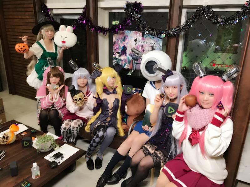 【ハロウィンコスプレ画像】渋谷に集まるギャル達の凝った様々な衣装がエロい! 11
