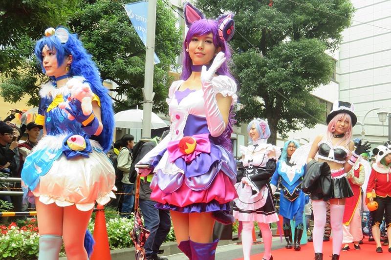 【ハロウィンコスプレ画像】渋谷に集まるギャル達の凝った様々な衣装がエロい! 18