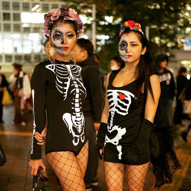 【ハロウィンコスプレ画像】渋谷に集まるギャル達の凝った様々な衣装がエロい! 23
