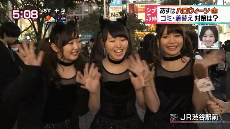 【ハロウィンコスプレ画像】渋谷に集まるギャル達の凝った様々な衣装がエロい! 26