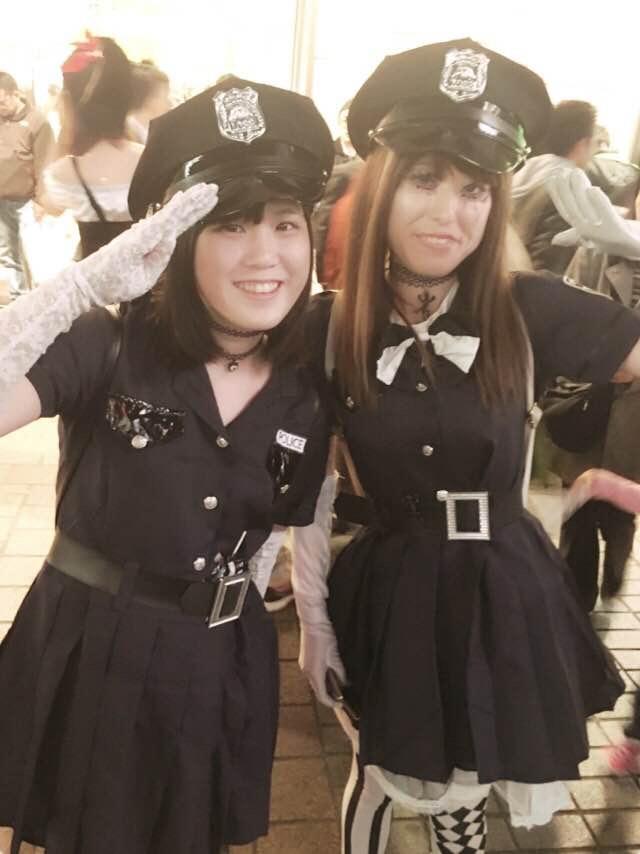 【ハロウィンコスプレ画像】渋谷に集まるギャル達の凝った様々な衣装がエロい! 30