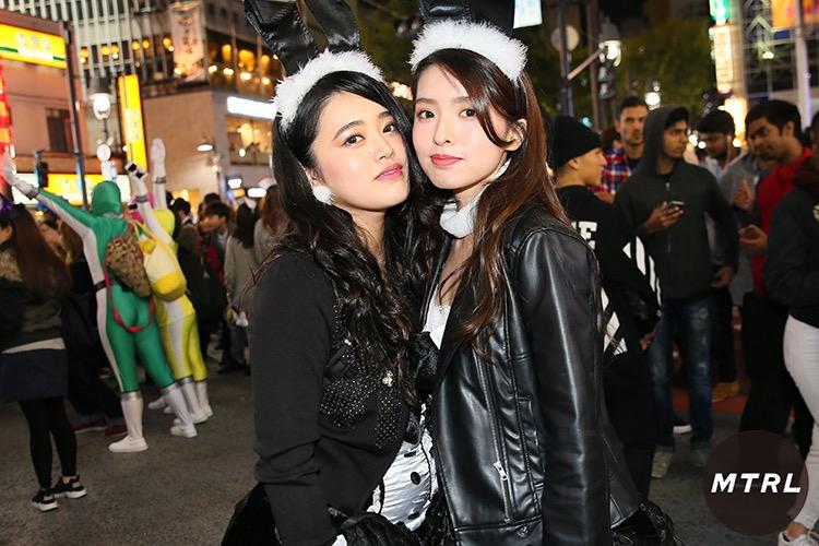 【ハロウィンコスプレ画像】渋谷に集まるギャル達の凝った様々な衣装がエロい! 34