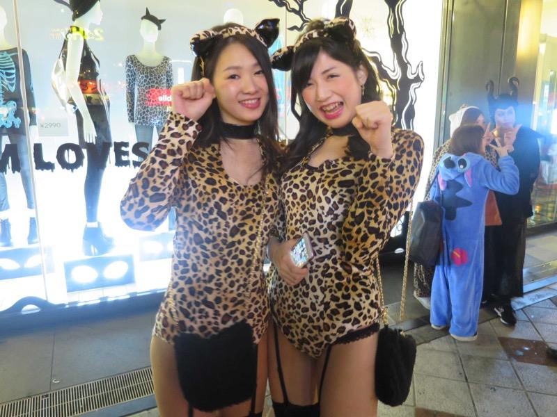 【ハロウィンコスプレ画像】渋谷に集まるギャル達の凝った様々な衣装がエロい! 51