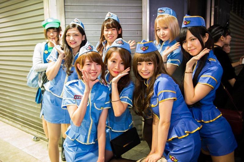 【ハロウィンコスプレ画像】渋谷に集まるギャル達の凝った様々な衣装がエロい! 54