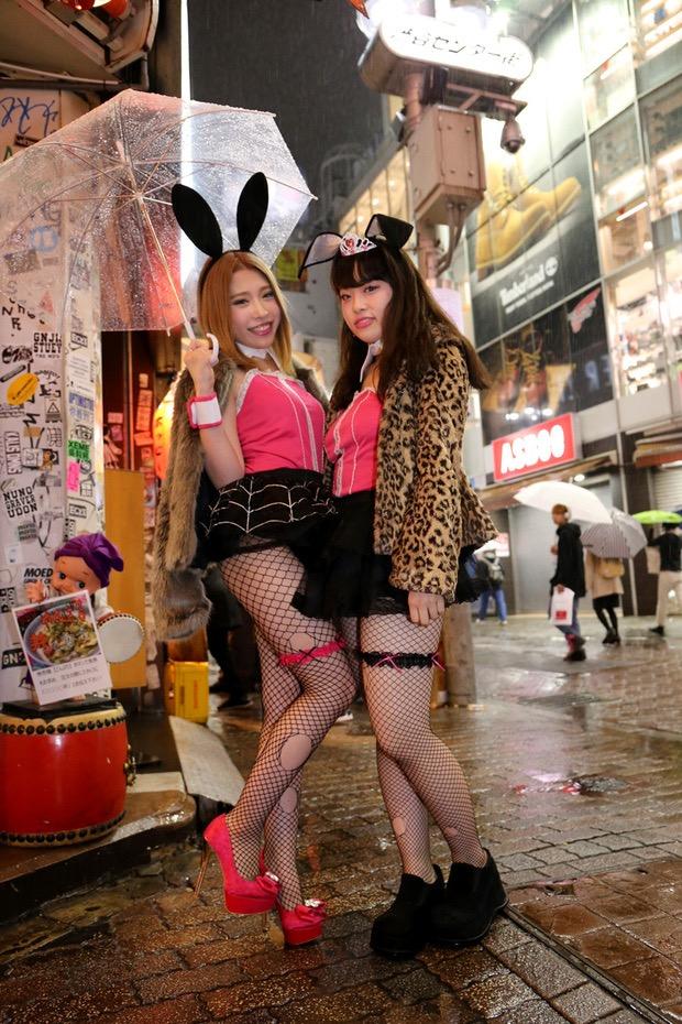 【ハロウィンコスプレ画像】渋谷に集まるギャル達の凝った様々な衣装がエロい! 62