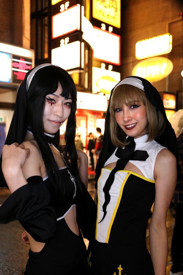【ハロウィンコスプレ画像】渋谷に集まるギャル達の凝った様々な衣装がエロい! 63