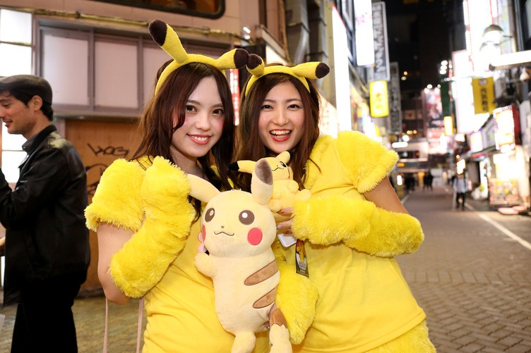 【ハロウィンコスプレ画像】渋谷に集まるギャル達の凝った様々な衣装がエロい! 65