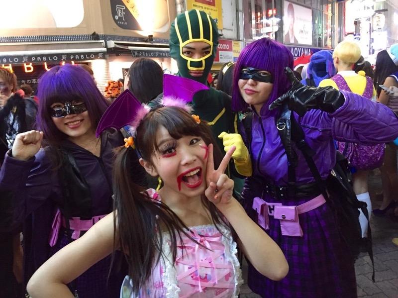 【ハロウィンコスプレ画像】渋谷に集まるギャル達の凝った様々な衣装がエロい! 73