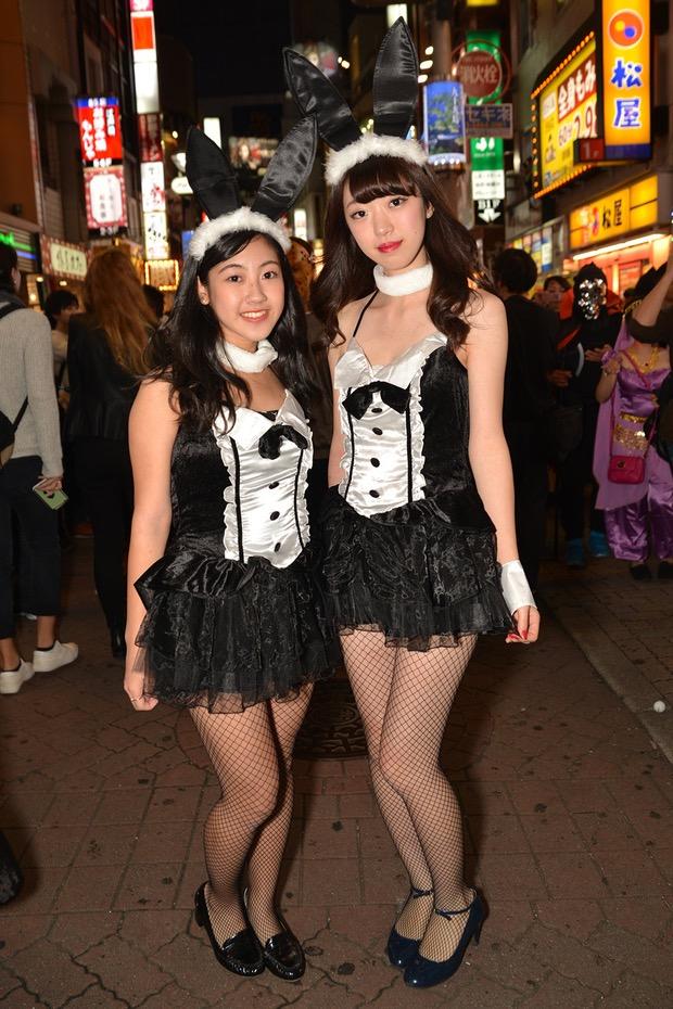 【ハロウィンコスプレ画像】渋谷に集まるギャル達の凝った様々な衣装がエロい! 76